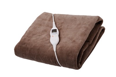 Electric Heated Throw Rug New