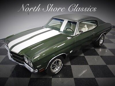 Chevelle -SS396 WITH BUILD SHEET-4 SPEED-FROM NORTH CAROLIN 1970 Chevrolet Chevelle for sale!