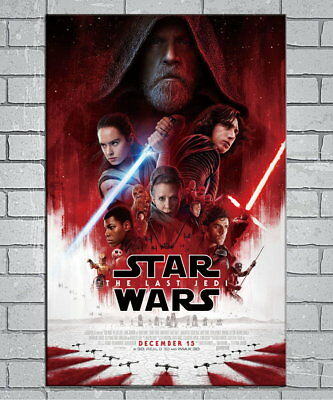 142036 Star Wars Th Last Jedi Collector's Wall Print Poster UK