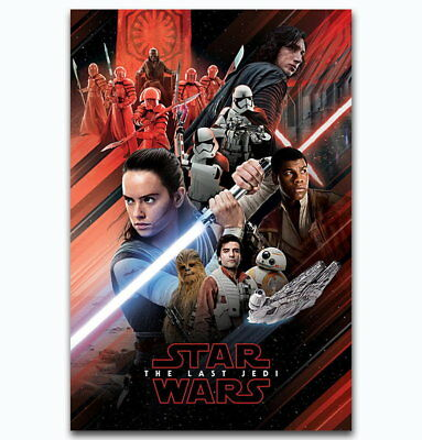 143556 Star Wars Th Last Jedi Collector's Wall Print Poster UK