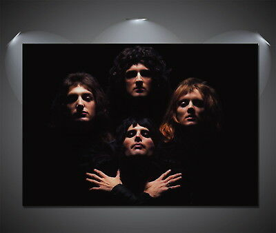 146983 Queen Bohemian Rhapsody Wall Print Poster UK