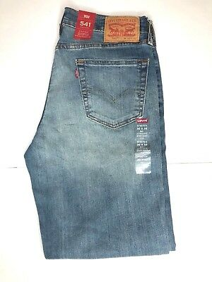 NWT Levis 541 Athletic Fit 'Lake Merrit' Blue Jeans (0026) w/ Stretch