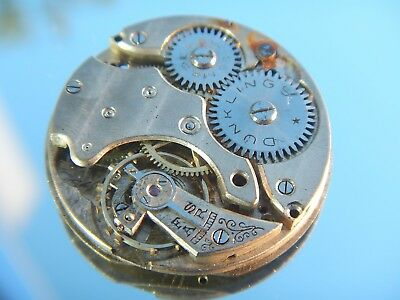 DUNKLINGS ROLEX Watch Movement 13 Ligne 13' Officers Trench Rolex Vintage 1920