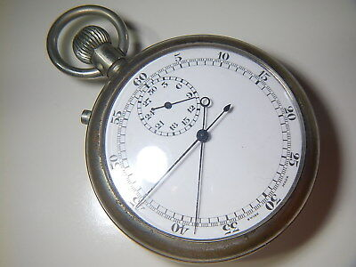 BRITISH NAVY TIMER  Stopwatch | Vintage  1930 1940  | PATT 4 366047 | Ticking