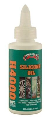 Helmar H4000 'SILICONE OIL' 100ml - Food Grade Safe - Dirty Pour Creates Cells