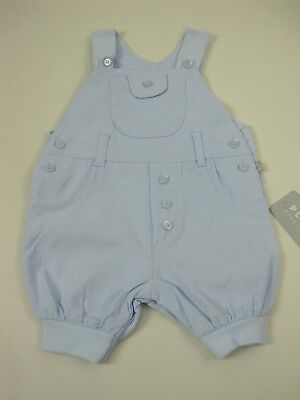 Plum Newborn Baby Sleeveless All In One Romper Overalls size 0000 Pale Blue