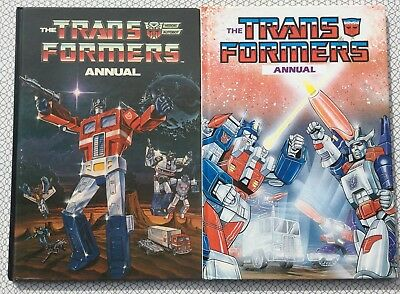 TRANSFORMERS ANNUALS 1986 and 1987