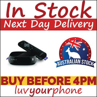 Telstra TV Powered by Roku 4200TL Booster Black with Remote Brand New