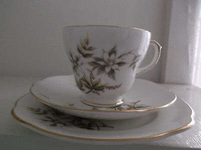 Vintage Duchess Bone China Trio - Dusty Maid - Cup, Saucer, & Plate