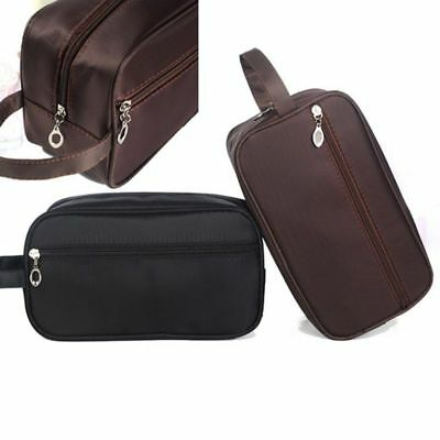 US Travel Pouch Canvas Handbags Cosmetic Makeup Case Organizer Toiletry Wash Bag