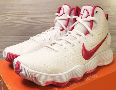 f6dcba95519 NIKE HYPERDUNK Kay Yow Cancer Pink 100%   to V Foundation 897631-100 Size