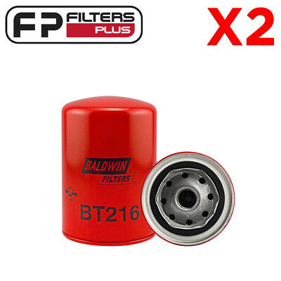 2 x BT216 Baldwin Oil Filter - Perkins, Caterpillar - LF701, P554403, 2654403