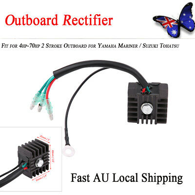 Easy-installed 4hp-70hp 2 Stroke Outboard Voltage Regulator Rectifier For Yamaha
