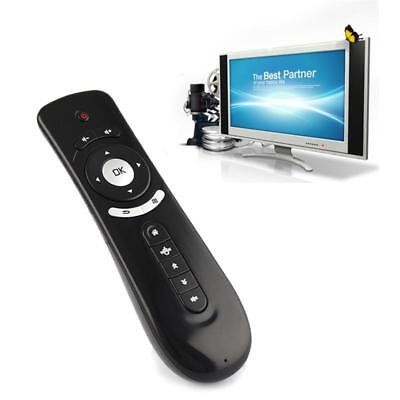 Wireless Fly Air Mouse Mini Keyboard Remote Control With Mic for Smart TV 2.4GHz