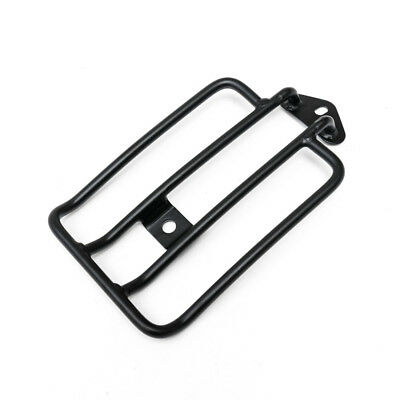 Black Solo Seat Luggage Support Rack For Harley Sportster XL 883 1200 2004-2015