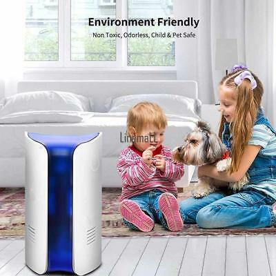Electromagnetic Dual Ultrasonic Anti Mosquito Insect Pest Killer Repeller LM 01