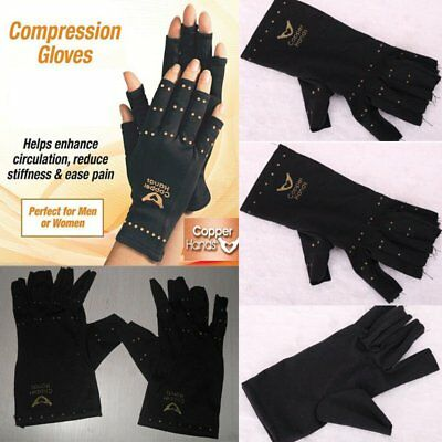 Anti Arthritis Copper Compression Therapy Gloves - Hand Ache Pain Joint Relief U