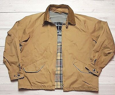 Mens Barbour Lightweight Beresford Casual Jacket Size Large