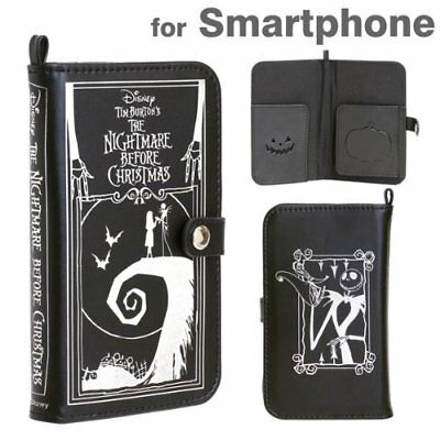 New Disney Characters Old Book Case Nightmare Before Christmas for Smart Phone