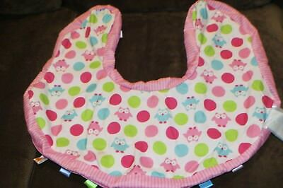 Kids II Comfort & Harmony Lounge Buddies Owl Boppy Infant Pillow Cover Pink