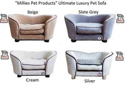 Pet Sofa Dog Cat Couch Wooden Luxury