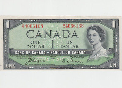 Canada. Canadian Currency, Paper Money, Bank Note 1 Dollar
