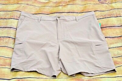 d8afa24c61 CHAPS MENS GOLF Performance Shorts Khaki Cargo Size 38 - $19.99 ...
