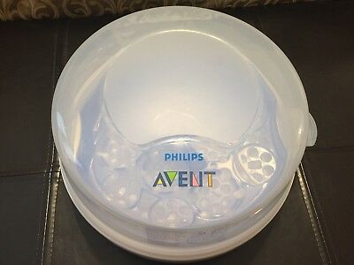 Philips AVENT Baby Bottle Microwave Steam Sterilizer. EUC