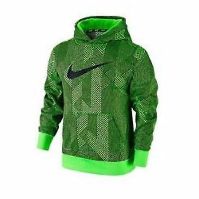 Nike Pullover Hoodie Sweatshirt Therma-Fit Green 839158 398 Boy's Size Xl New Wt