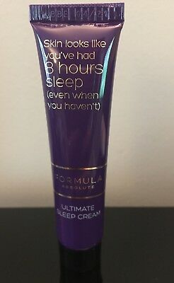 M&S Formula Absolute 8 Hour Ultimate Sleep Cream night cream 15ml Travel size BN