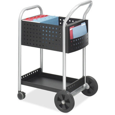 "Safco Scoot Mail Cart, Legal Size, Model # 5238BL 22"" W x 27"" D x 40½"" H"