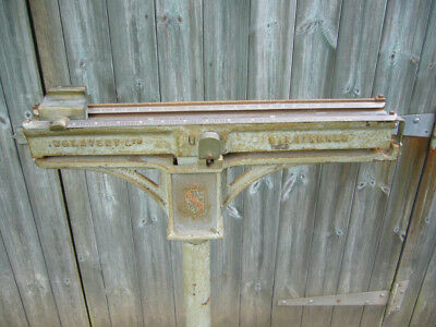 Vintage Antique Stand-on Platform Scales by W&T Avery Ltd of Birmingham