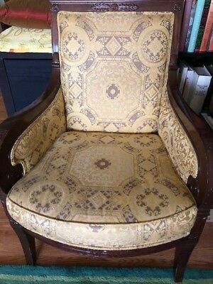 upscale French armchair