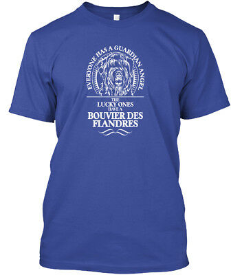 Bouvier Des Flandres Guardian Angel Dog - Everyone Has Hanes Tagless Tee T-Shirt