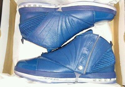 5f81eb1acfc88f Air Jordan 16 Retro Trophy Room 854255-416 French Blue French Blue Men Size