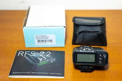 Broncolor RFS 2.2 S Transceiver for Sony B-36.162.00, supports High Speed Sync
