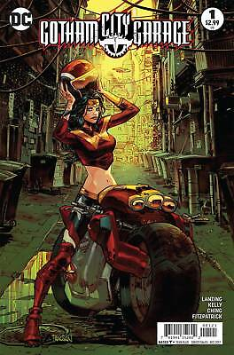 GOTHAM CITY GARAGE #1 1ST PRINT Wonder Woman Variant DC Comics NM  2017