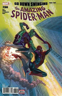 AMAZING SPIDERMAN #798 1st print Ross Marvel Comics NM 2018 1ST Red Goblin