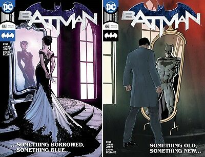 BATMAN #44 Catwoman Rebirth DC Comics NM Wedding 2 Cover Set 2018 1st print