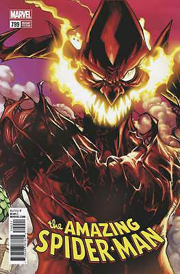 AMAZING SPIDER-MAN #799 Connecting Variant Red Goblin Marvel NM 2018