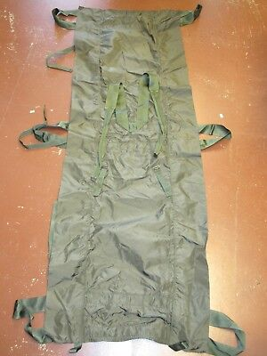 Usgi Military Poleless Litter Rescue Stretcher Collapsible Non-Rigid Od Green