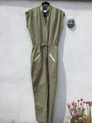 Vintage Jumpsuit Zip Up Front Late 70's/Early 80's