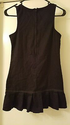 Girls French Toast black uniform jumper size 10