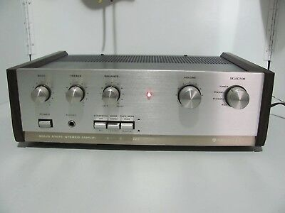 Kenwood KA-2002A Rare 70s Stereo Amplifier Made In Japan Near Mint & In G.W.O