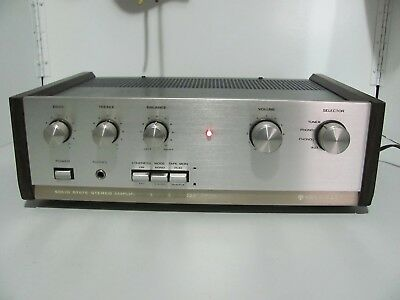 Rare 70s Kenwood KA-2002A Stereo Amplifier Made In Japan Near Mint & In G.W.O