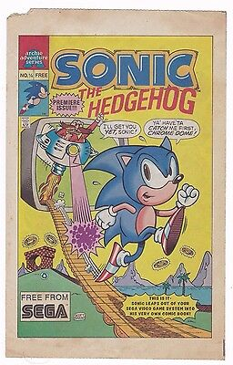 Sonic the Hedgehog #0.25 1/4 1st Print Promo Premiere Issue 2nd Appearance