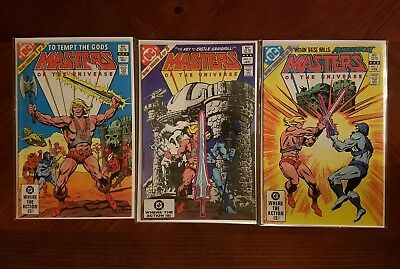 DC Comics Masters of The Universe #1 2 3 Full Series Comic Book Lot