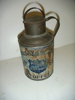 Our Standard Coffee Tin Purity & Strength rare