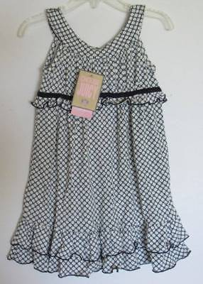 "Juicy Couture Girls Navy ""Dudley"" Knit Dress (3) NWT"