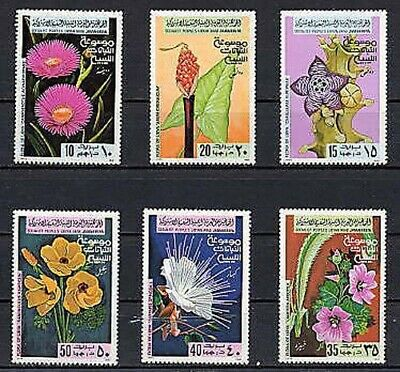 Libya 1979 Stamps Flowers Orchids (full set) MNH
